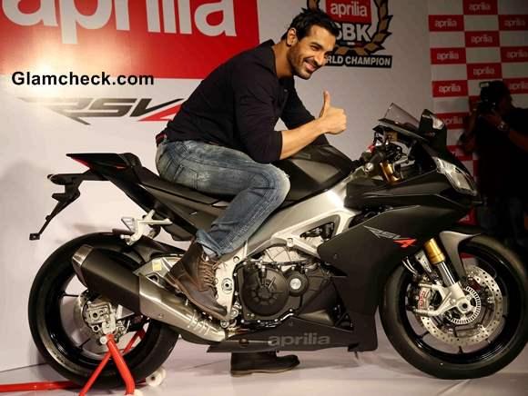 John Abraham Shares Experience with Superbike Aprilia RSV4
