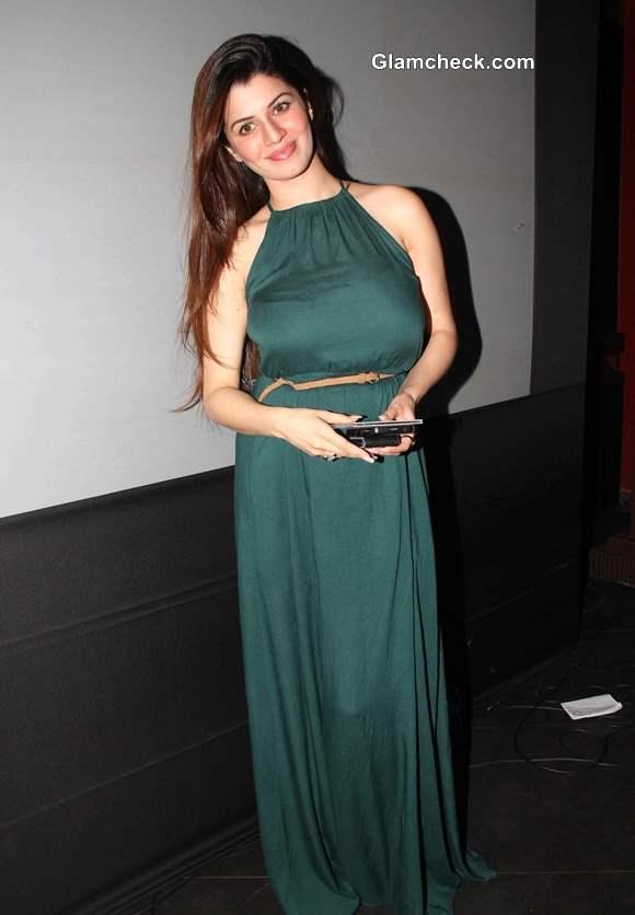Kainaat Arora 2013 Lalitya Munshaw Album Launch