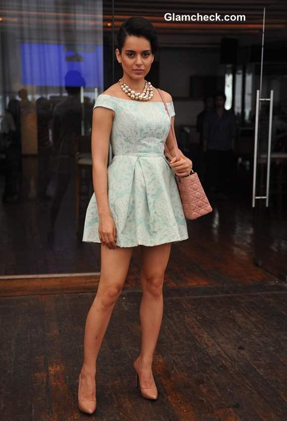 Kangana Ranaut 2013 in dress
