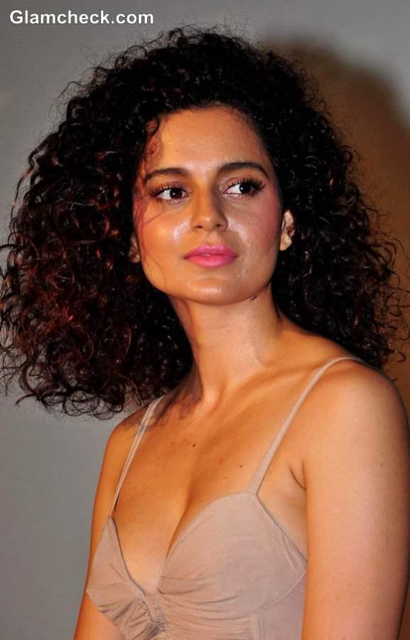 Kangana Ranaut Curly Hair Medium Length 2013