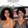 Kangana Ranaut Curly Hair - Medium Length Vs Bob
