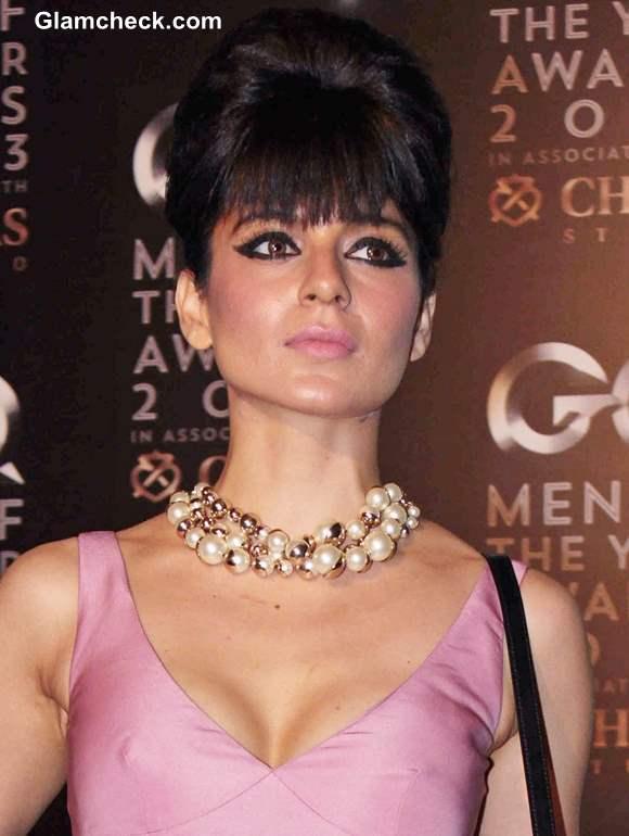 Kangana Ranaut at 2013 GQ Man of the Year Award pictures