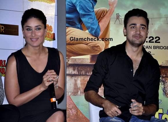 Kareena Kapoor and Imraan Khan Launch Gori Tere Pyar Mein First Look