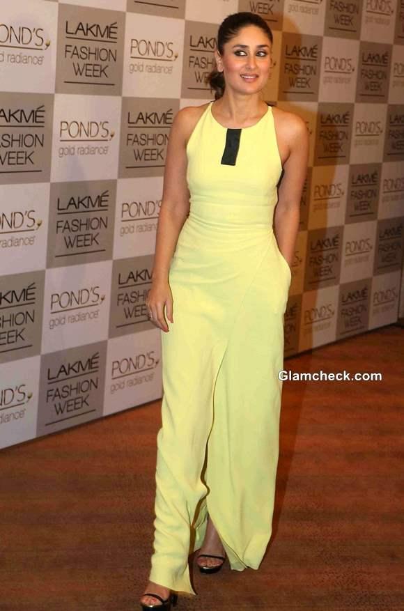 Kareena Kapoor at LFW 2013