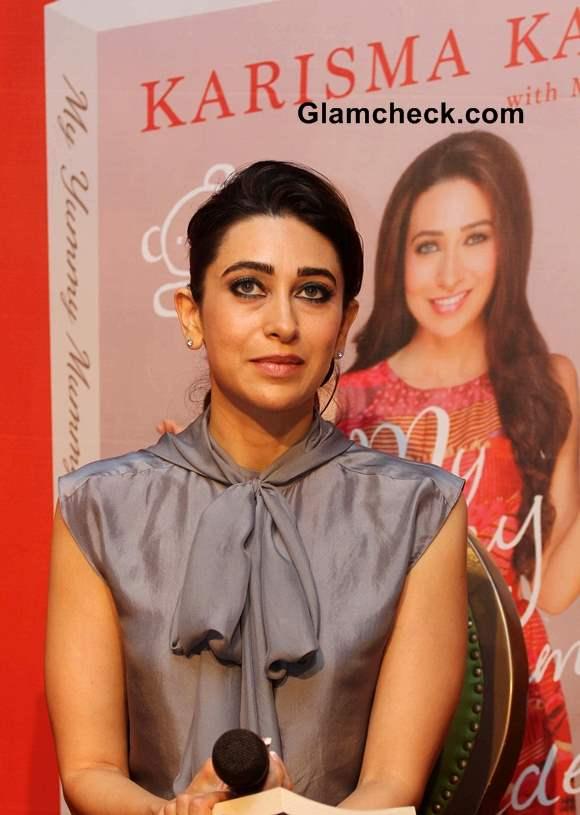 Karisma Kapoor 2013 at My Yummy Mummy Guide launch