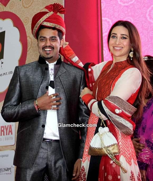 Karisma Kapoor 2013 at Vibrant Vivah Wedding Festival