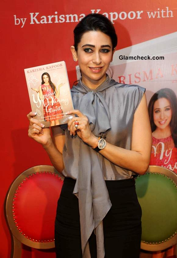 Karisma Kapoor Launches book My Yummy Mummy Guide