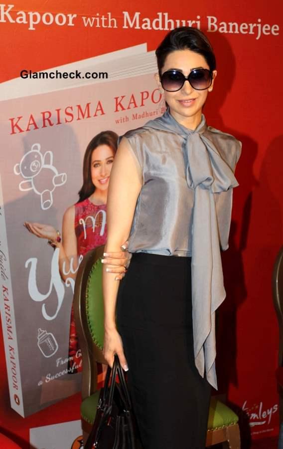 Karisma Kapoor at My Yummy Mummy Guide 2013