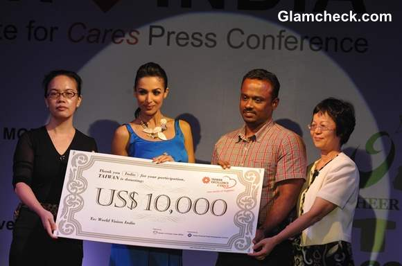 Malaika Arora Khan Taiwan Excellence Care Charity Campaign