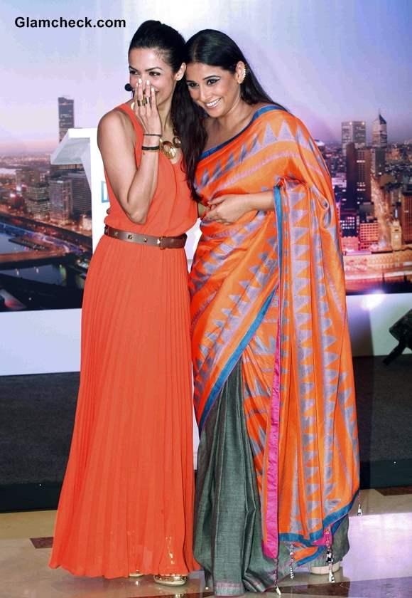 Malaika Arora Khan Vidya Balan at Indian Film Festival of Melbourne Announcement