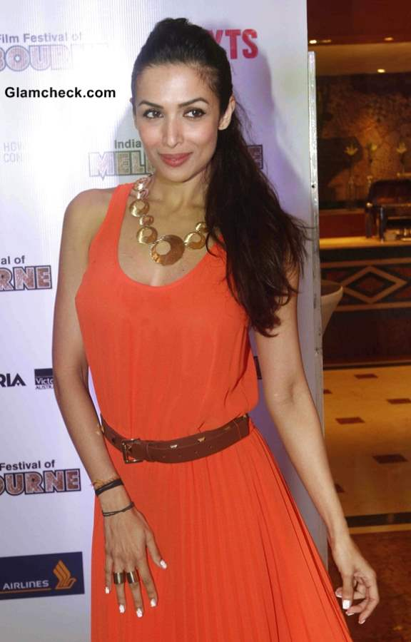 Malaika Arora Khan in Michael Kors at Indian Film Festival of Melbourne Announcement