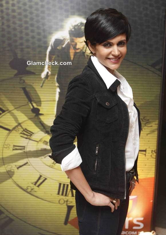 Mandira Bedi at TV Show 24