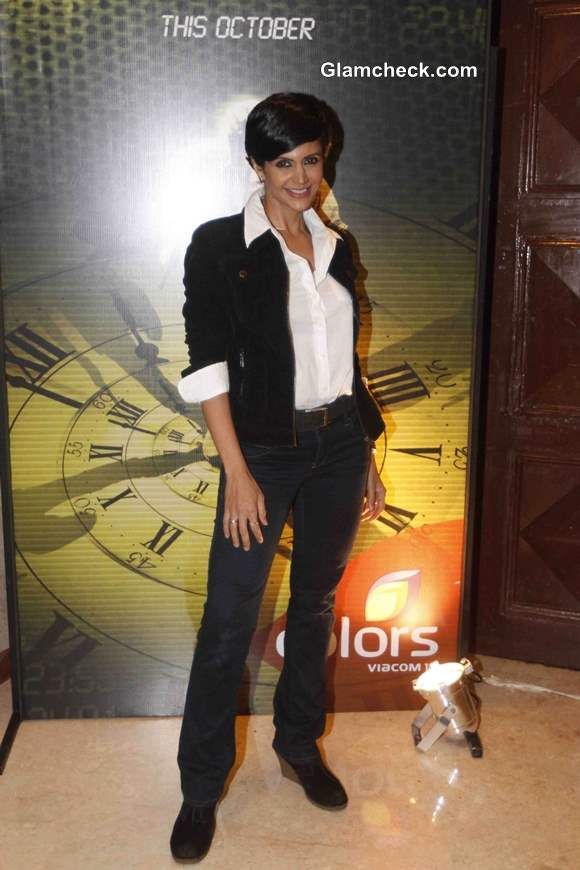 Mandira Bedi at the launch of TV Show 24
