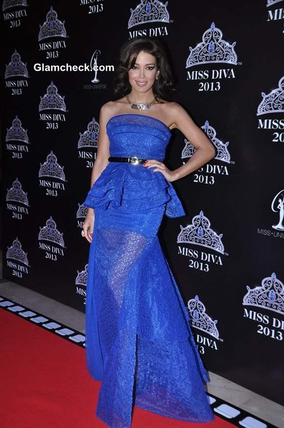 Miss Universe Canada Sahar Biniaz at Miss Diva 2013