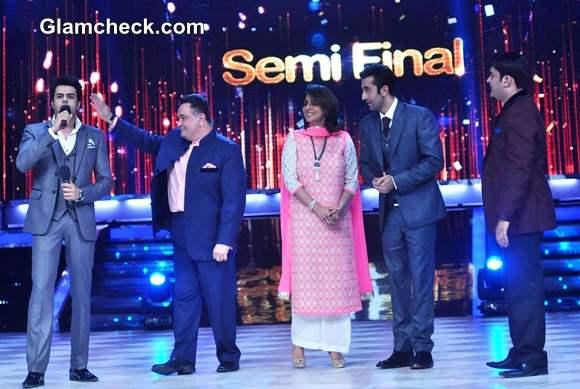 Movie Besharam promotions on Jhalak Dikhlaa Jaa Season 6 semi final