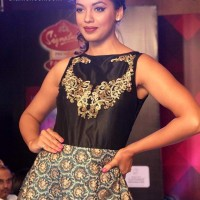 Mugdha Godse for Abhishek Dutta 2013 Signature Premier Fashion Parties - Assam