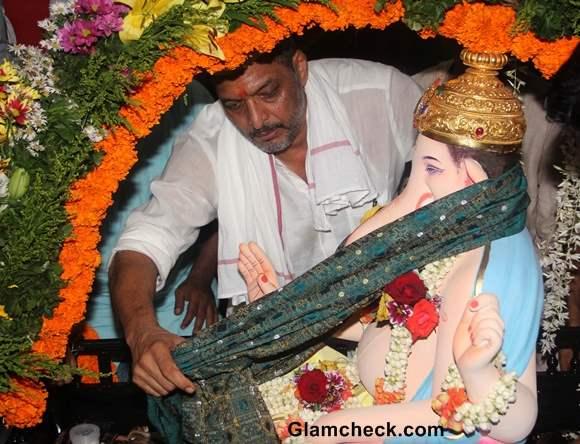 Nana Patekar at Ganesh Visarjan 2013