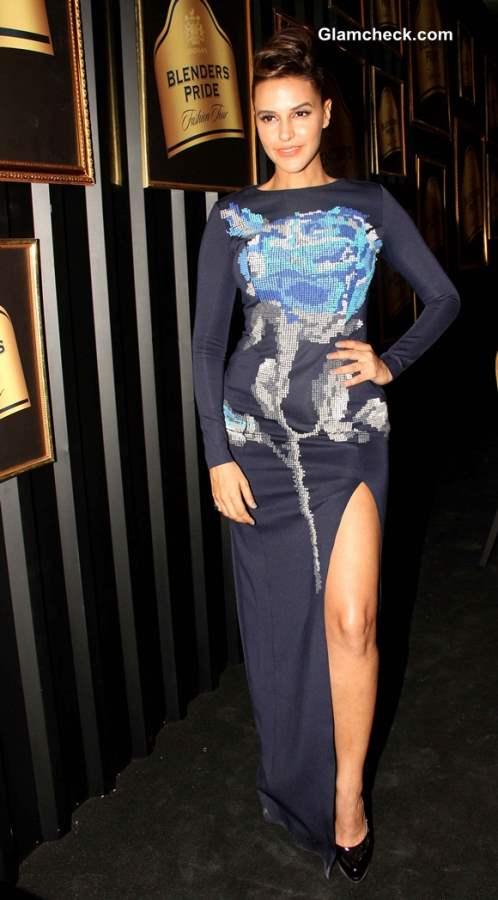Neha Dhupia at Blenders Pride Fashion Tour 2013