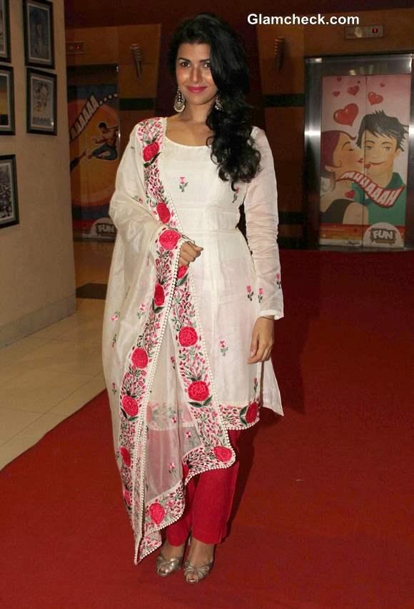 Nimrat Kaur at 4th Jagran Film Festival in Mumbai