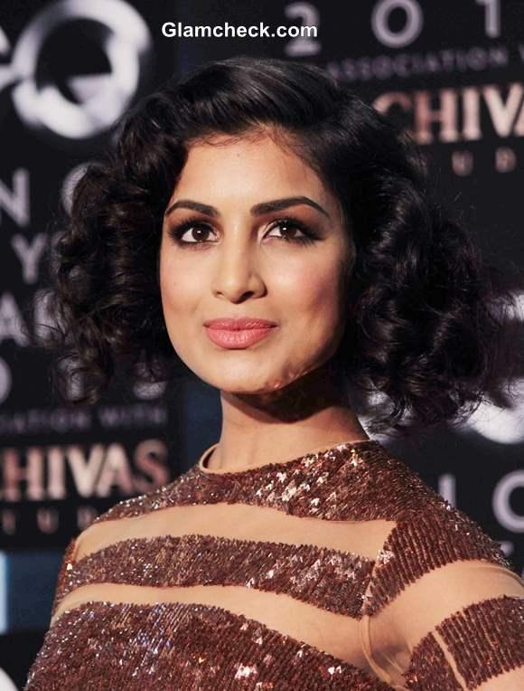 Pallavi Sharda Hairstyle at GQ Man of the Year Awards 2013