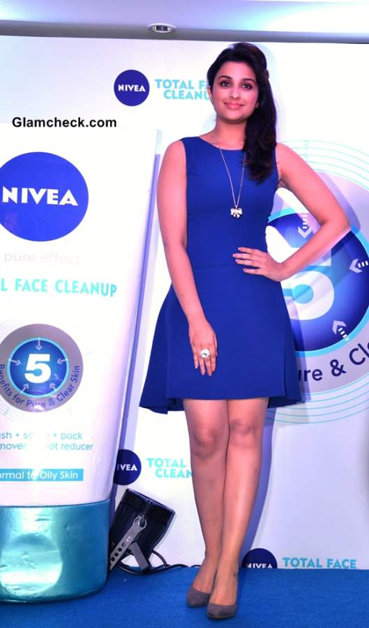 Parineeti Chopra in Blue Dress 2013