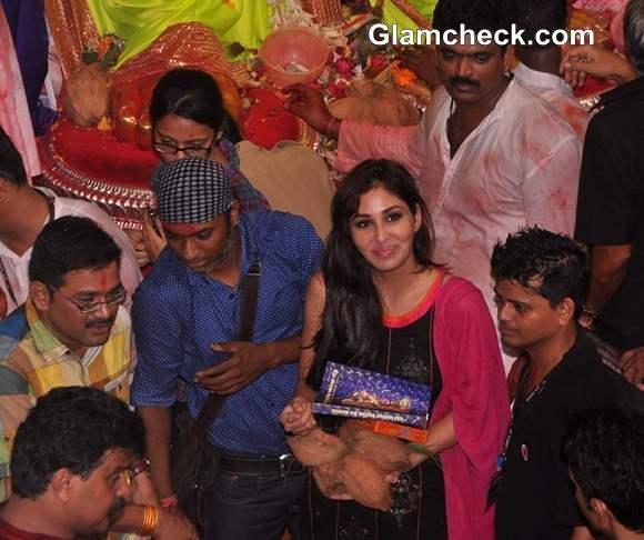 Pooja Chopra at Lalbaughcha Raja 2013