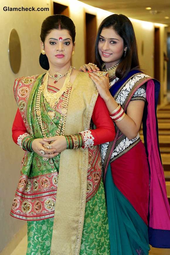 Prachee Pathak and Payal Rajput Promote Akhir Bahu Bhi to Beti Hi Hai