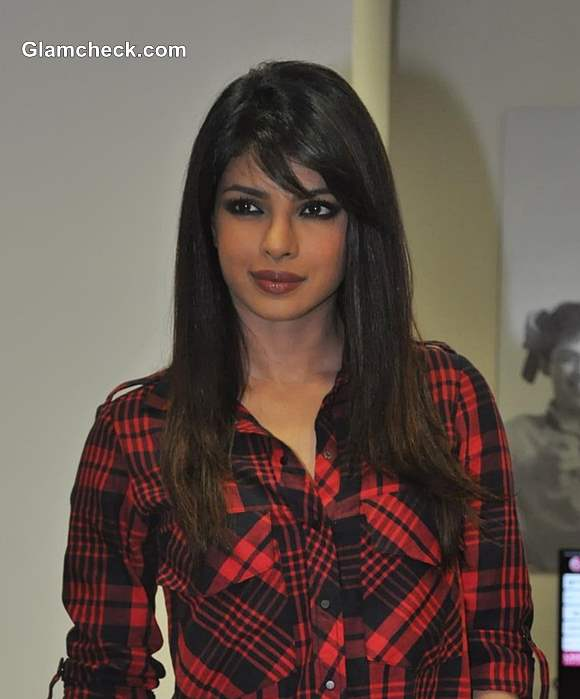 Priyanka Chopra 2013 hairstyle