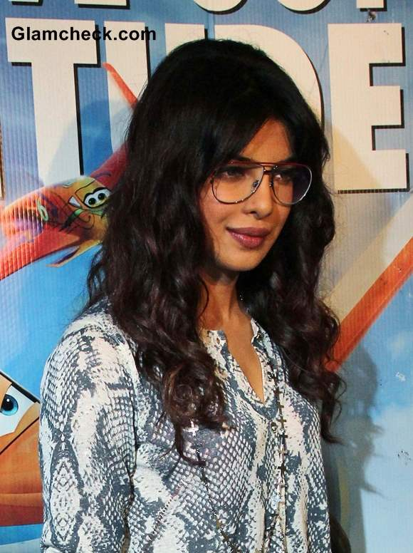 Priyanka Chopra Curly Hairstyle 2013 Soft Curls