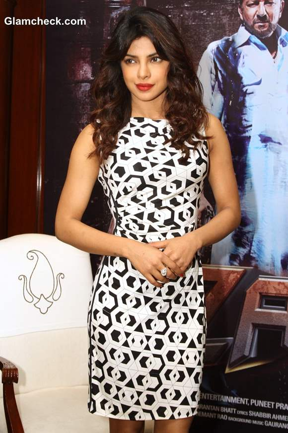 Priyanka Chopra in sheath dress