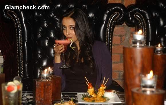 Raima Sen Feasts on Veda Restaurants New Winter Dishes