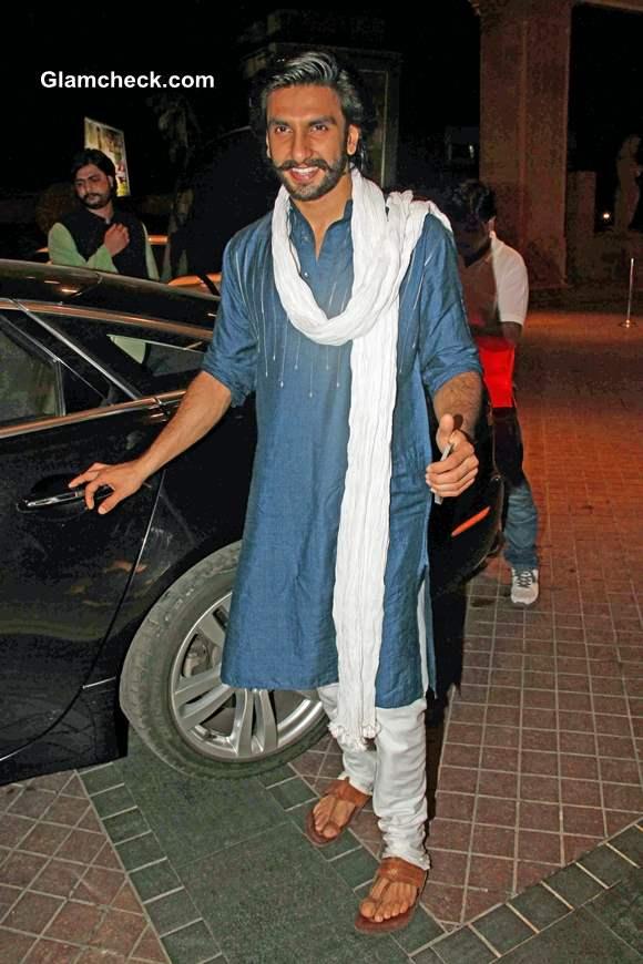 Ranveer Singh at Mumbai J W Marriott
