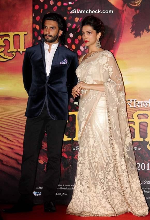 Ranvir Singh Deepika Padukone Launch Ram Leela Trailer 2013