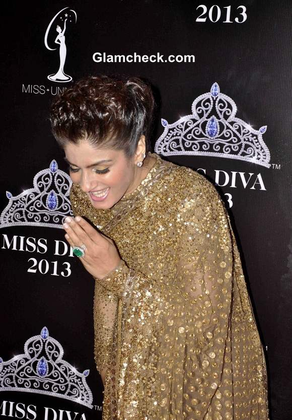 Raveena Tandon at Miss Diva 2013