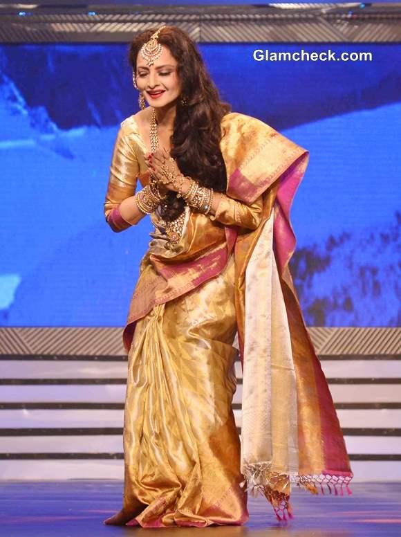Rekha 2013 pics