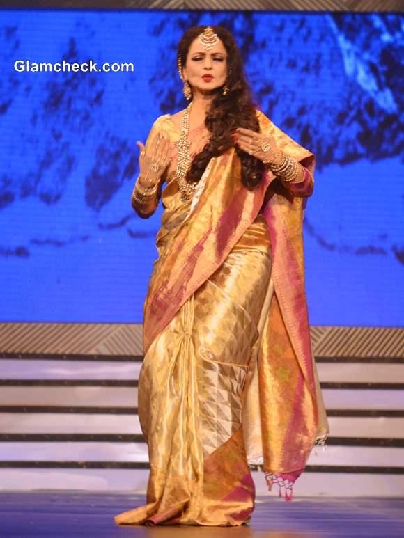 Rekha at Late Yash Chopra Tribute 2013