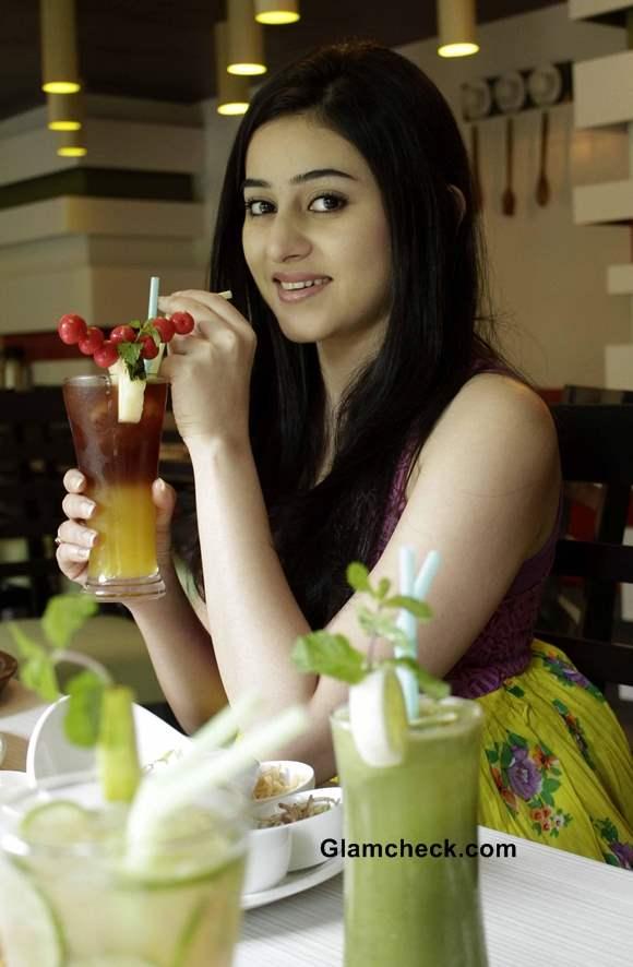 Riddhima Ghosh at Organic Restaurant launch in Kolkata