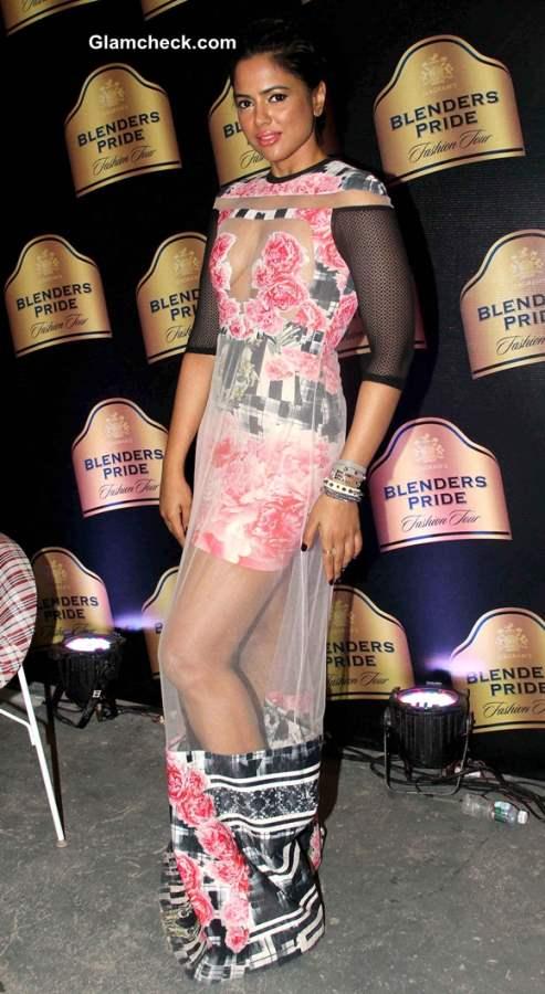 Sameera Reddy at 2013 Blenders Pride Fashion Tour