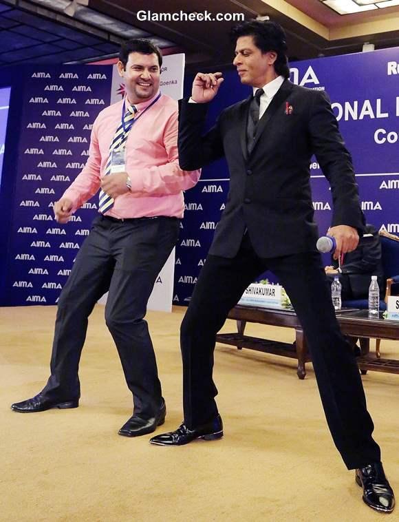 Shahrukh Khan 2013 at 40th National Management Convention