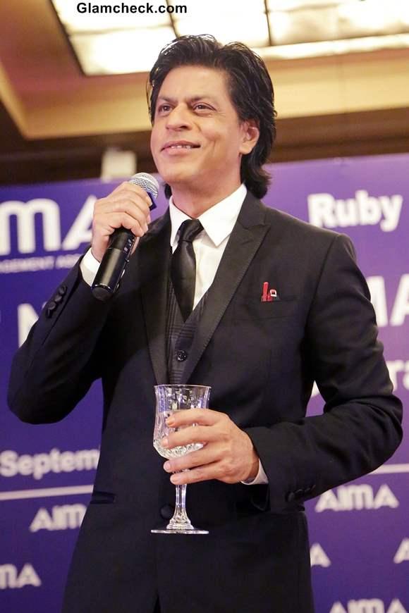 Shahrukh Khan at 40th National Management Convention 2013