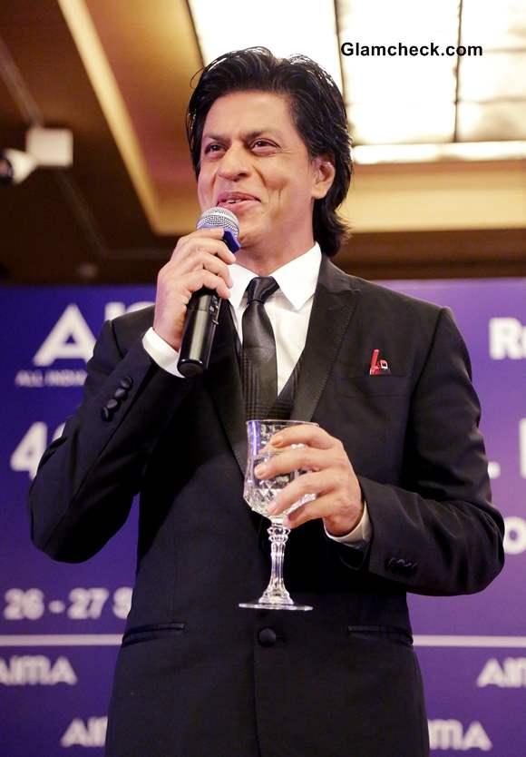 Shahrukh Khan at 40th National Management Convention