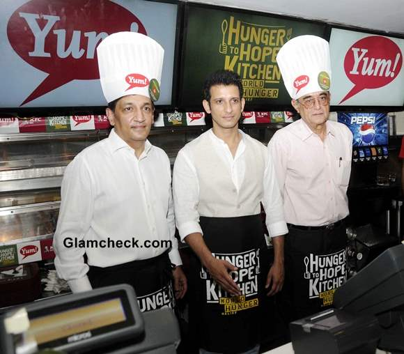 Sharman Joshi Urges People to Join Hands in Fighting Hunger