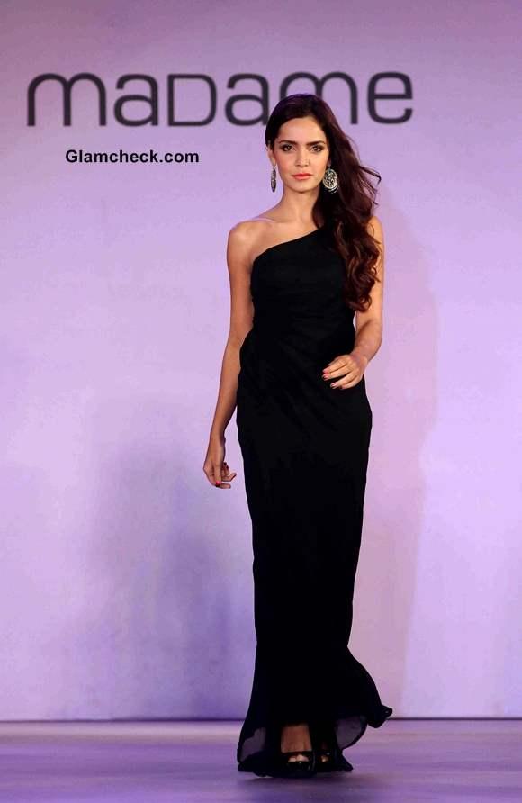 Shazahn Padamsee walks the Ramp for Fashion Label Madame