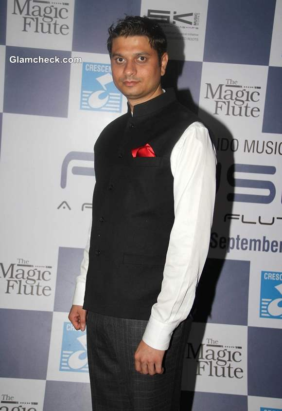 Siddharth Kashyap at Ronu Majumdar Fusion Album Magic Flute Launch