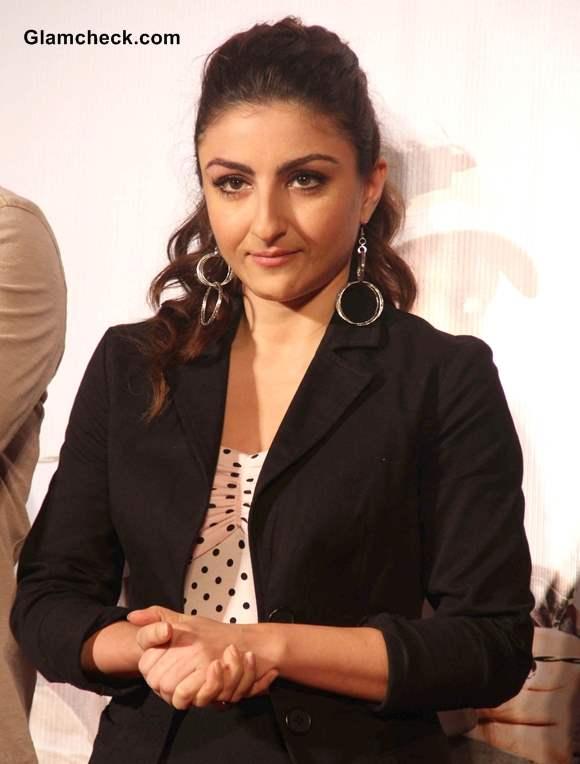 Soha Ali Khan at War Chhod Na Yaar Music and Trailer Launch in Mumbai