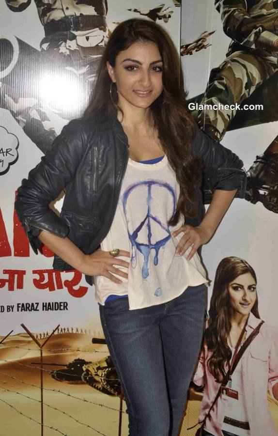Soha Ali Khan in War Chhod Na Yaar movie 2013