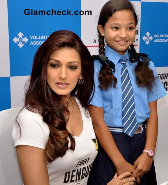 Sonali Bendre for Fight Dengue for Payal Campaign
