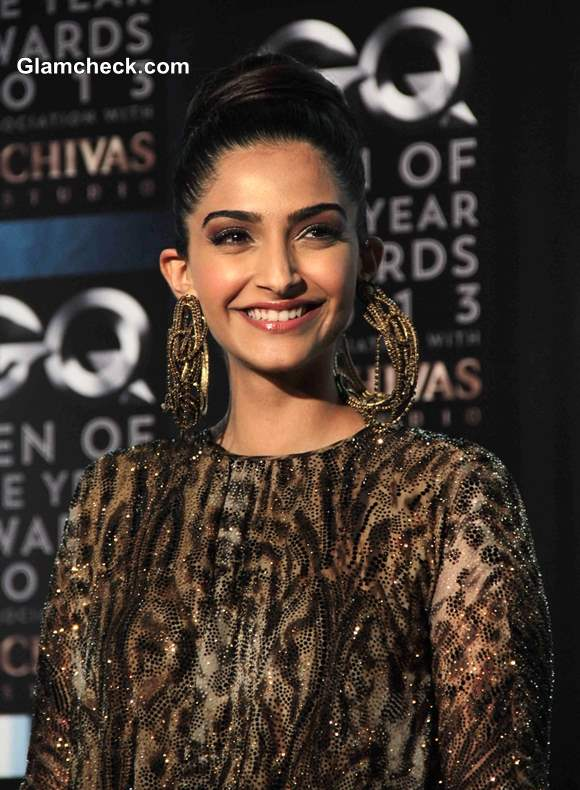 Sonam Kapoor Pictures at GQ Men of the Year Awards 2013