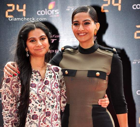 sonam kapoor with her sister rhea kapoor the fashionista
