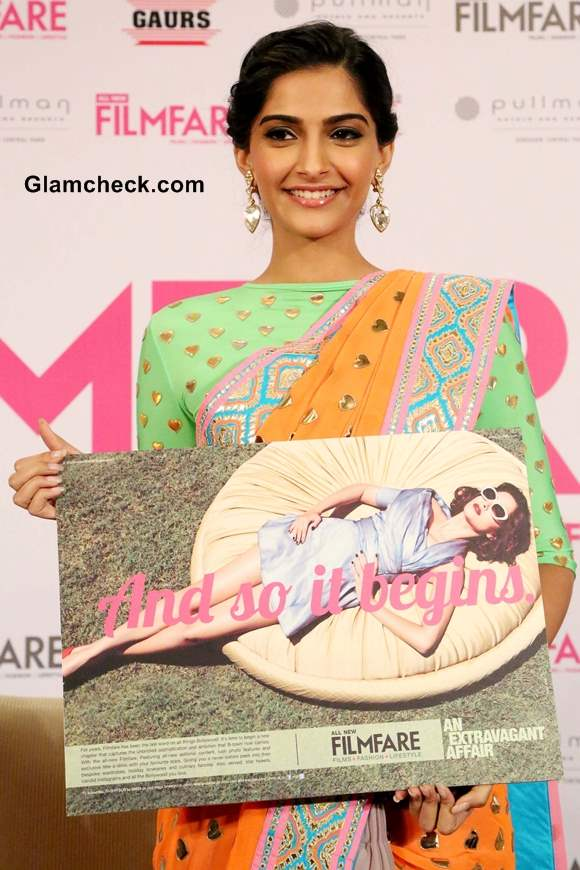 Sonam Kapoor at Filmfare Magazine New Look Unveiling
